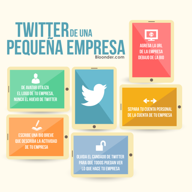 Twitter de una pequeña empresa