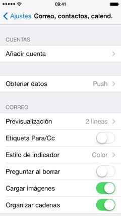 Cómo configurar tu correo electrónico en tu iPhone 3