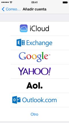 Cómo configurar tu correo electrónico en tu iPhone 4