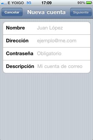 Cómo configurar tu correo electrónico en tu iPhone 6