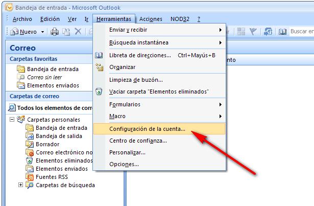 Cómo configurar tu correo electrónico en Microsoft Outlook 1