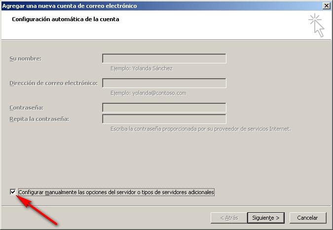 Cómo configurar tu correo electrónico en Microsoft Outlook 3