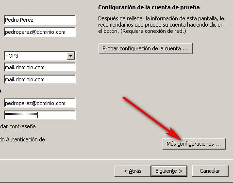 Cómo configurar tu correo electrónico en Microsoft Outlook 6