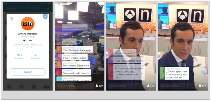 Periscope, video en streaming para tu marca 3
