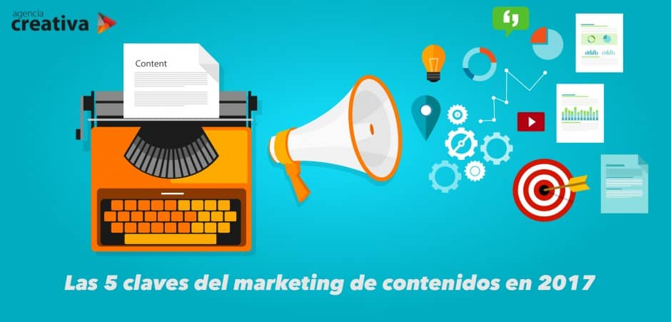 Las 5 claves del marketing de contenidos en 2017