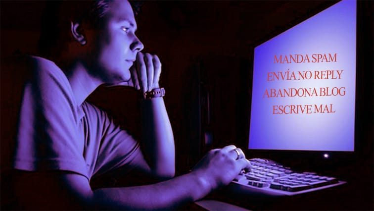 Las peores prácticas en e-mail, redes y blog
