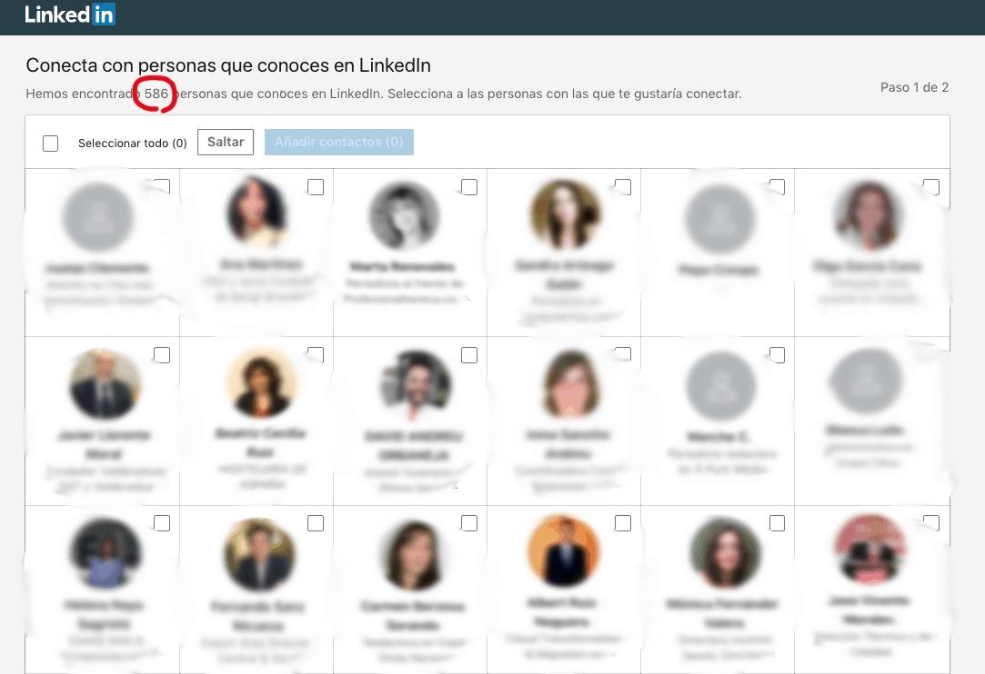 Cómo importar contactos de correo o CRM a tu red de LinkedIn 2
