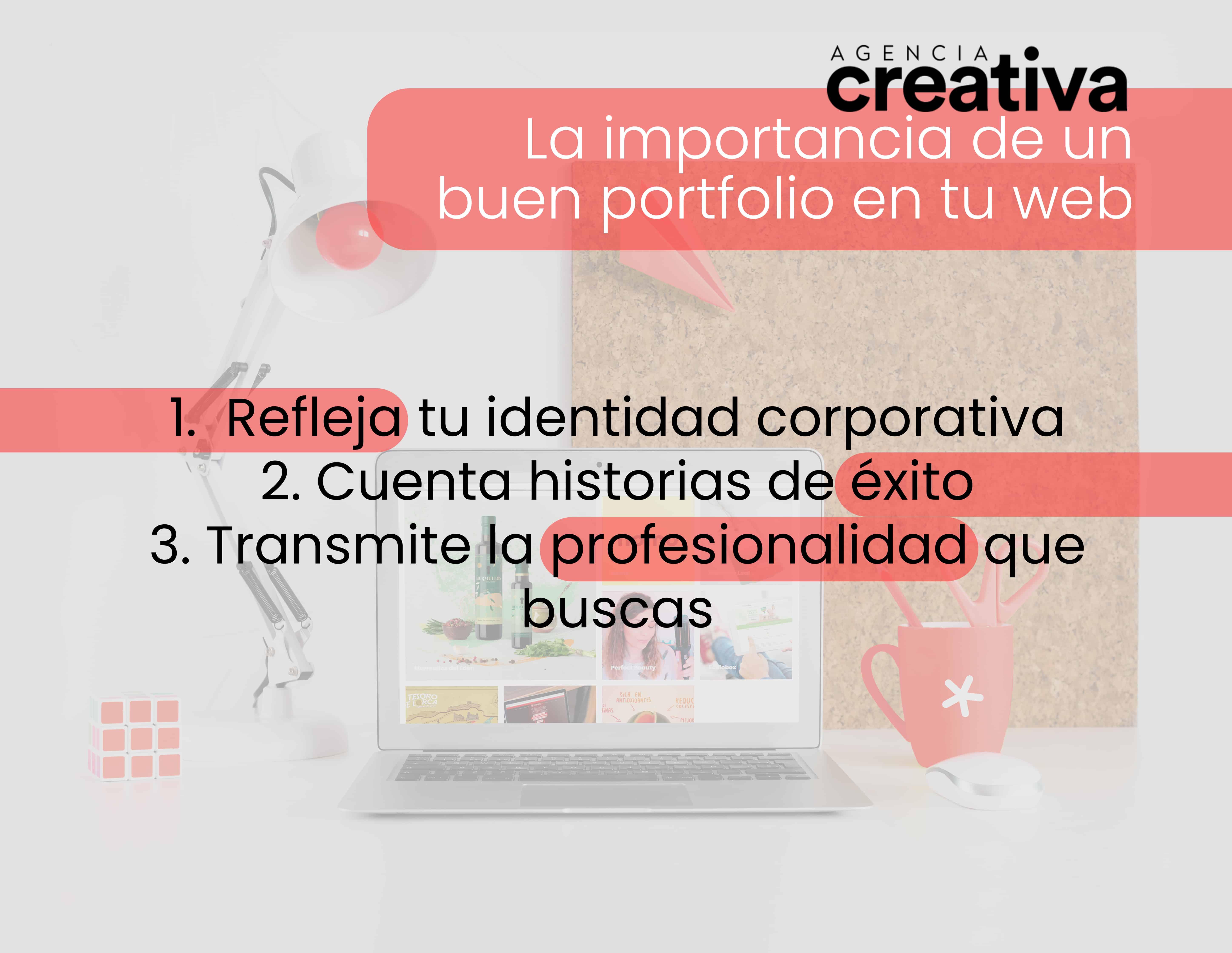 La importancia de un buen portfolio en tu web 1
