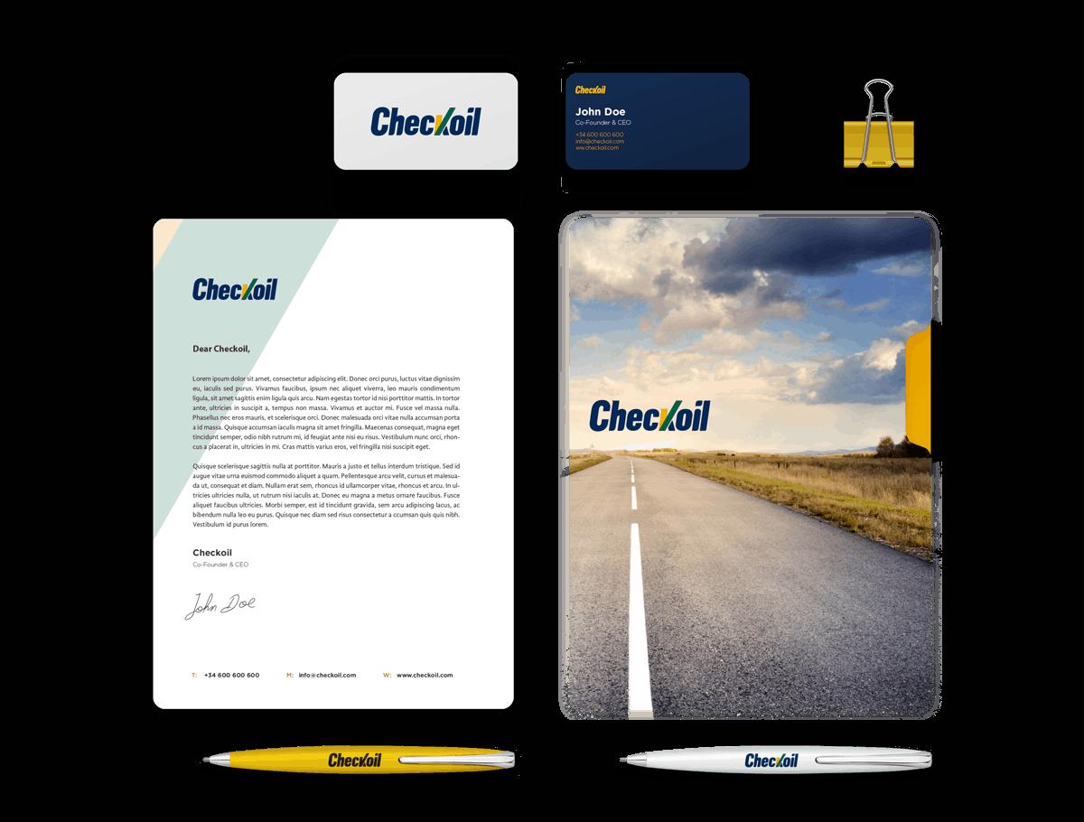 Checkoil | Identidad corporativa, Branding y Desarrollo Web 18