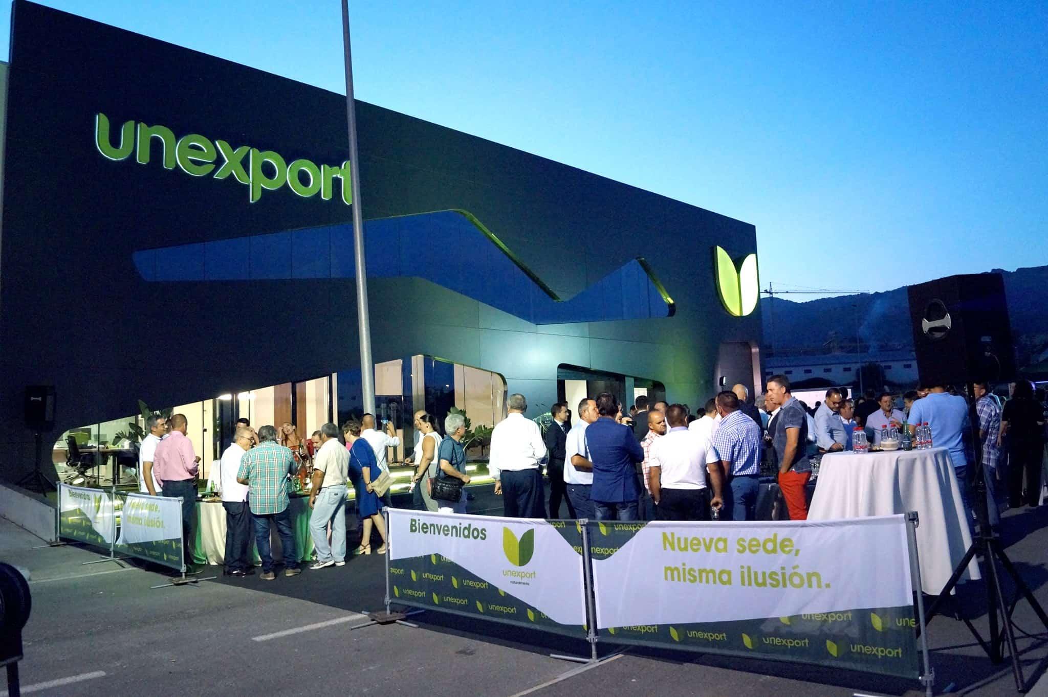 inauguración instalaciones Unexport