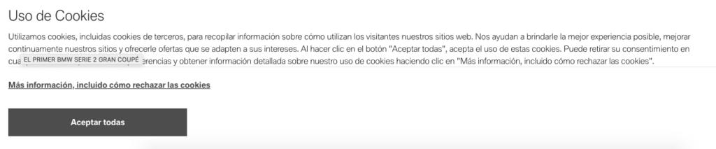 Nuevas normas en las cookies ¿está lista tu web? 3